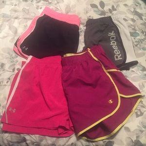 Bundle of 4 Athletic Shorts